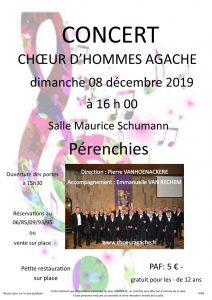 Concert Choeur d'Hommes Agache 2019
